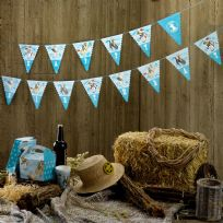 Wild West Cowboys Bunting